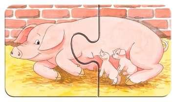 07333 Kinderpuzzle Auf dem Bauernhof von Ravensburger 3