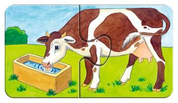 07333 Kinderpuzzle Auf dem Bauernhof von Ravensburger 6