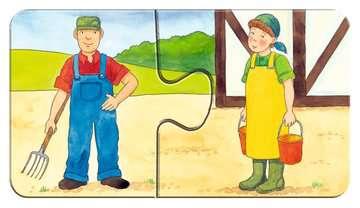 07333 Kinderpuzzle Auf dem Bauernhof von Ravensburger 8