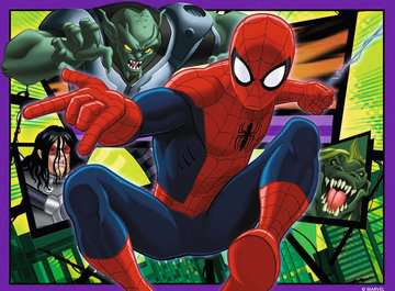 Disney Spider Man 4 v 1 2D Puzzle;Dětské puzzle - obrázek 4 - Ravensburger