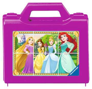 Puzzle 6 cubes - Disney Princesses Jeux éducatifs;Premiers apprentissages - Image 1 - Ravensburger