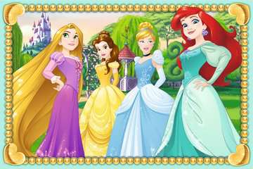 07428 Kinderpuzzle Funkelnde Prinzessinnen von Ravensburger 2