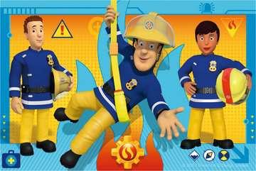 Puzzle 6 cubes - Sam le pompier Puzzle;Puzzle enfant - Image 2 - Ravensburger