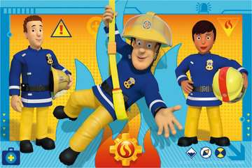 Puzzle 6 cubes - Sam le pompier Puzzle;Puzzle enfant - Image 3 - Ravensburger