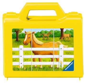 Puzzle 6 cubes - La ferme Jeux éducatifs;Premiers apprentissages - Image 1 - Ravensburger