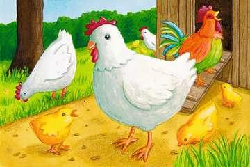 07463 Kinderpuzzle Mein Bauernhof von Ravensburger 2
