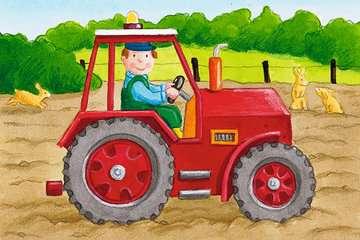 07463 Kinderpuzzle Mein Bauernhof von Ravensburger 7
