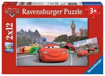 07554 Kinderpuzzle Lightning McQueen und seine Freunde von Ravensburger 1