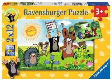Lernspaß mit Maulwurf Puzzle;Kinderpuzzle - Bild 1 - Ravensburger