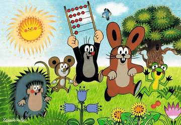 Lernspaß mit Maulwurf Puzzle;Kinderpuzzle - Bild 2 - Ravensburger