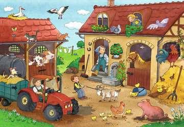 07560 Kinderpuzzle Fleißig auf dem Bauernhof von Ravensburger 2
