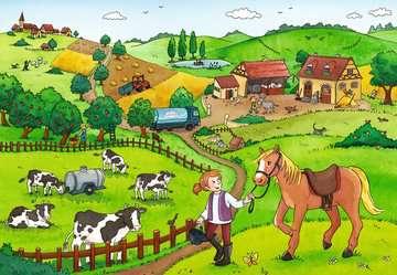 07560 Kinderpuzzle Fleißig auf dem Bauernhof von Ravensburger 3