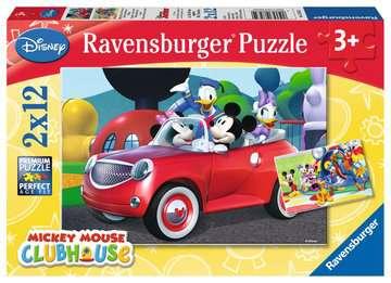 Puzzles 2x12 p - Mickey, Minnie et leurs amis / Disney Puzzle;Puzzle enfant - Image 1 - Ravensburger