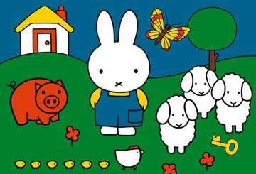 nijntje bij de dieren / miffy à la ferme Puzzle;Puzzles enfants - Image 2 - Ravensburger