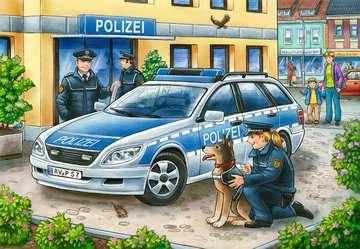 07574 Kinderpuzzle Polizei und Feuerwehr von Ravensburger 2