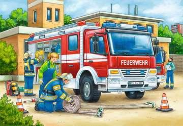 07574 Kinderpuzzle Polizei und Feuerwehr von Ravensburger 3
