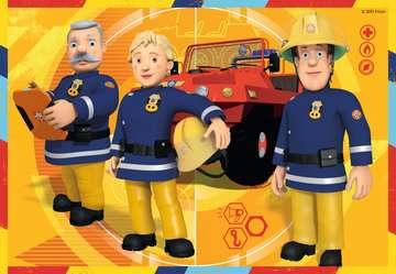 STRAŻAK SAM - W AKCJI 2X12 EL Puzzle;Puzzle dla dzieci - Zdjęcie 2 - Ravensburger