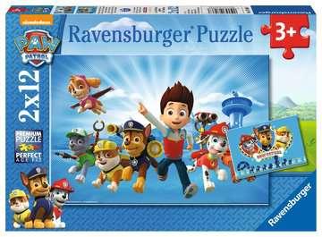 Paw Patrol 2x12pc Puslespil;Puslespil for børn - Billede 1 - Ravensburger