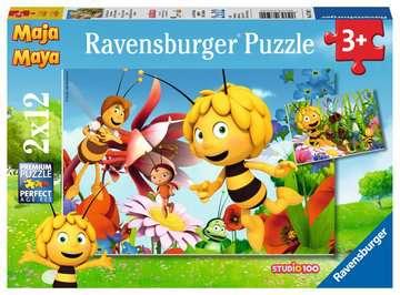 Biene Maja auf der Blumenwiese Puzzle;Kinderpuzzle - Bild 1 - Ravensburger