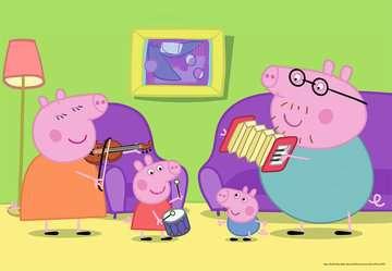 Puzzles 2x12 p - A la maison / Peppa pig Puzzle;Puzzle enfant - Image 2 - Ravensburger