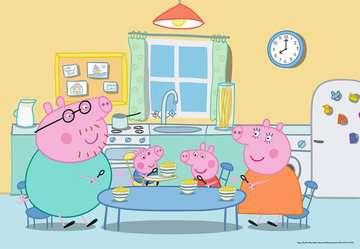 Puzzles 2x12 p - A la maison / Peppa pig Puzzle;Puzzle enfant - Image 3 - Ravensburger