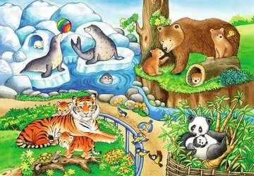 Animals in the Zoo Puslespil;Puslespil for børn - Billede 3 - Ravensburger