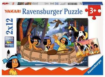 Yakaris Abenteuer Puzzle;Kinderpuzzle - Bild 1 - Ravensburger