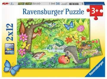 07610 Kinderpuzzle Tiere in unserem Garten von Ravensburger 1