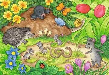 07610 Kinderpuzzle Tiere in unserem Garten von Ravensburger 2