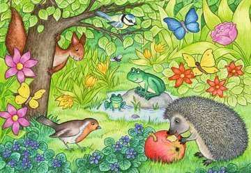 07610 Kinderpuzzle Tiere in unserem Garten von Ravensburger 3