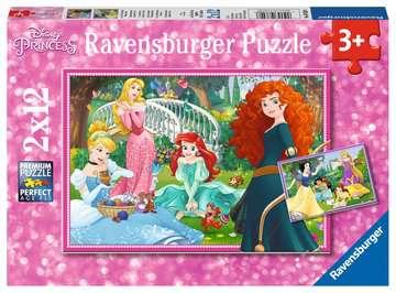 In de wereld van de Disney prinsessen Puzzels;Puzzels voor kinderen - image 1 - Ravensburger