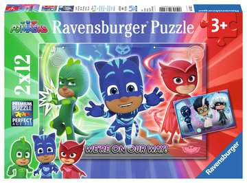 Gut gegen Böse Puzzle;Kinderpuzzle - Bild 1 - Ravensburger
