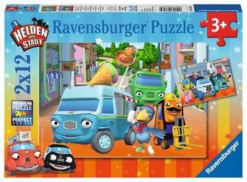 Abenteuer mit den Helden der Stadt Puzzle;Kinderpuzzle - Bild 1 - Ravensburger