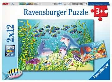 07625 Kinderpuzzle Auf dem Meeresgrund von Ravensburger 1