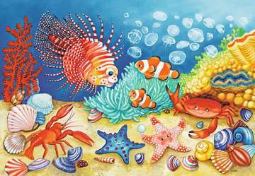 07625 Kinderpuzzle Auf dem Meeresgrund von Ravensburger 3