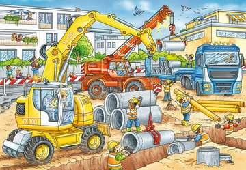 Pas op, wegwerkzaamheden! Puzzels;Puzzels voor kinderen - image 3 - Ravensburger