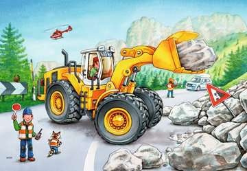 Diggers at Work Jigsaw Puzzles;Children s Puzzles - image 2 - Ravensburger