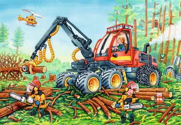 Diggers at Work Jigsaw Puzzles;Children s Puzzles - image 3 - Ravensburger
