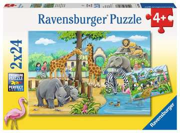 Welcome to the Zoo Jigsaw Puzzles;Children s Puzzles - image 1 - Ravensburger