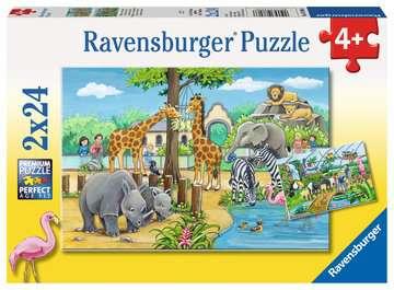 07806 Kinderpuzzle Willkommen im Zoo von Ravensburger 1