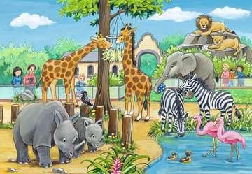 07806 Kinderpuzzle Willkommen im Zoo von Ravensburger 2