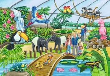 07806 Kinderpuzzle Willkommen im Zoo von Ravensburger 3