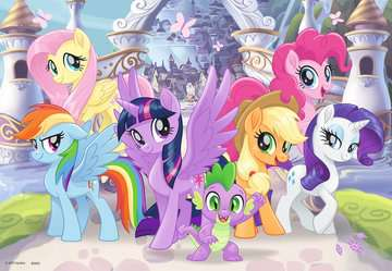 Puzzle 2x24 p - Poneys magiques / My Little Pony Puzzle;Puzzles enfants - Image 2 - Ravensburger