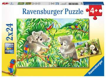 Sweet Koalas and Pandas Jigsaw Puzzles;Children s Puzzles - image 1 - Ravensburger