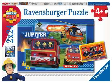 Wasser marsch mit Sam Puzzle;Kinderpuzzle - Bild 1 - Ravensburger