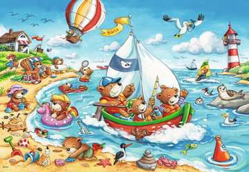 Vacation at Sea Jigsaw Puzzles;Children s Puzzles - image 3 - Ravensburger