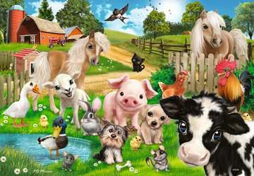 Tierfreunde / Animal Club Puslespil;Puslespil for børn - Billede 2 - Ravensburger