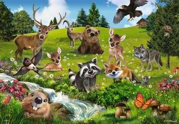 Tierfreunde / Animal Club Puslespil;Puslespil for børn - Billede 3 - Ravensburger