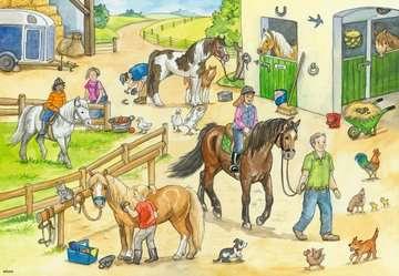 At the stables Puslespil;Puslespil for børn - Billede 2 - Ravensburger