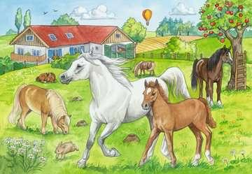 At the stables Puslespil;Puslespil for børn - Billede 3 - Ravensburger